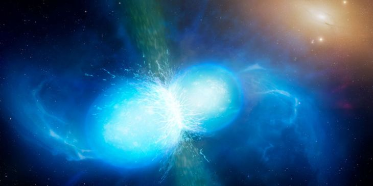 Neutron Star merger photo